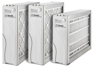 We sell SKUTTLE air filtration systems.